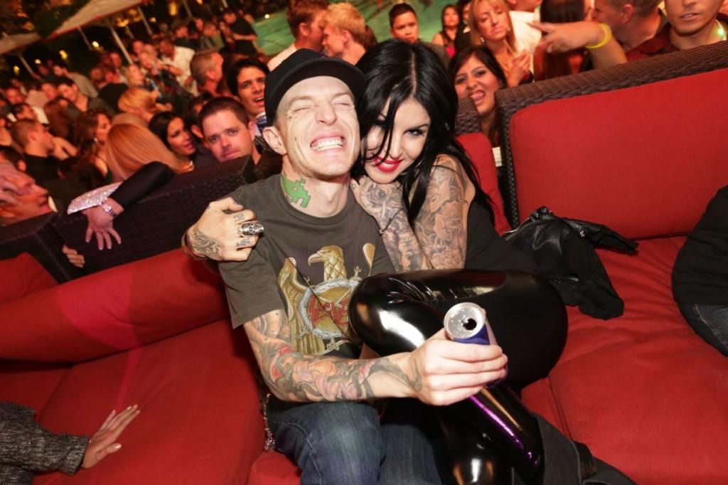 Deadmau5 and Kat @ XS in Las Vegas. (Photo credit: Danny Mahoney)