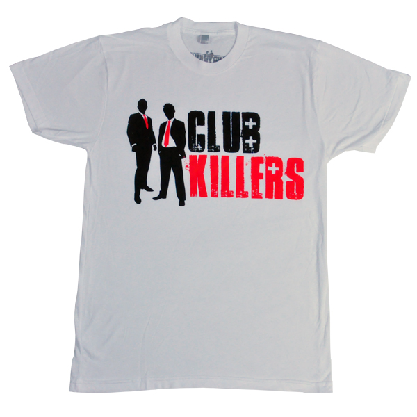 Club Killers White Shirt