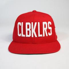 CLBKLRS - RED - Snapback Hat