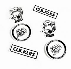 Club Killers - Killer Sticker 6 Pack