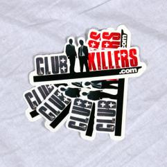 Club Killers Logo Sticker Pack